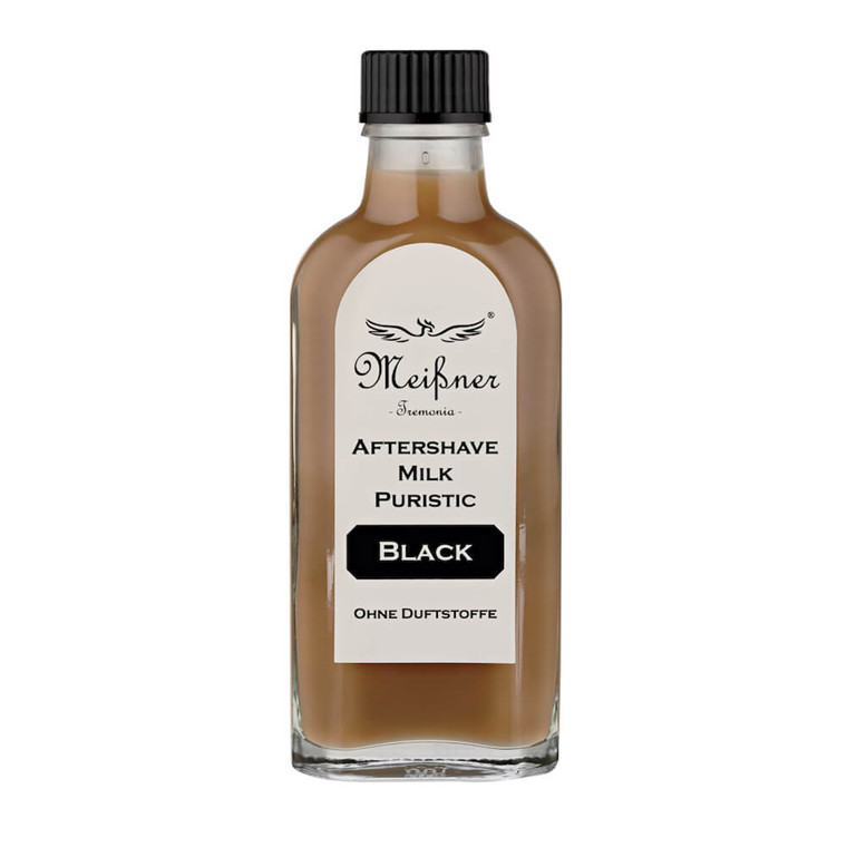 Meißner Tremonia Puristic Black Aftershave Milk, 100 ml.