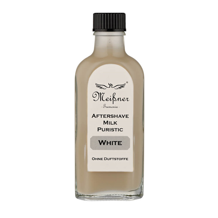 Meißner Tremonia Puristic White Aftershave Milk, 100 ml.
