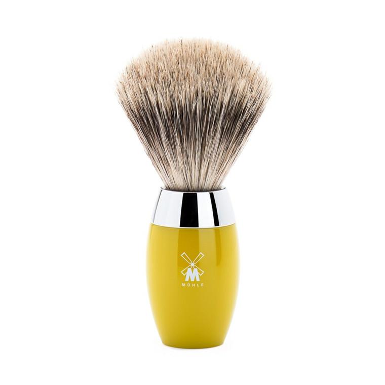 Mühle Fine Badger Barberkost, 21 mm, Kosmo, Citrus Kunstharpiks