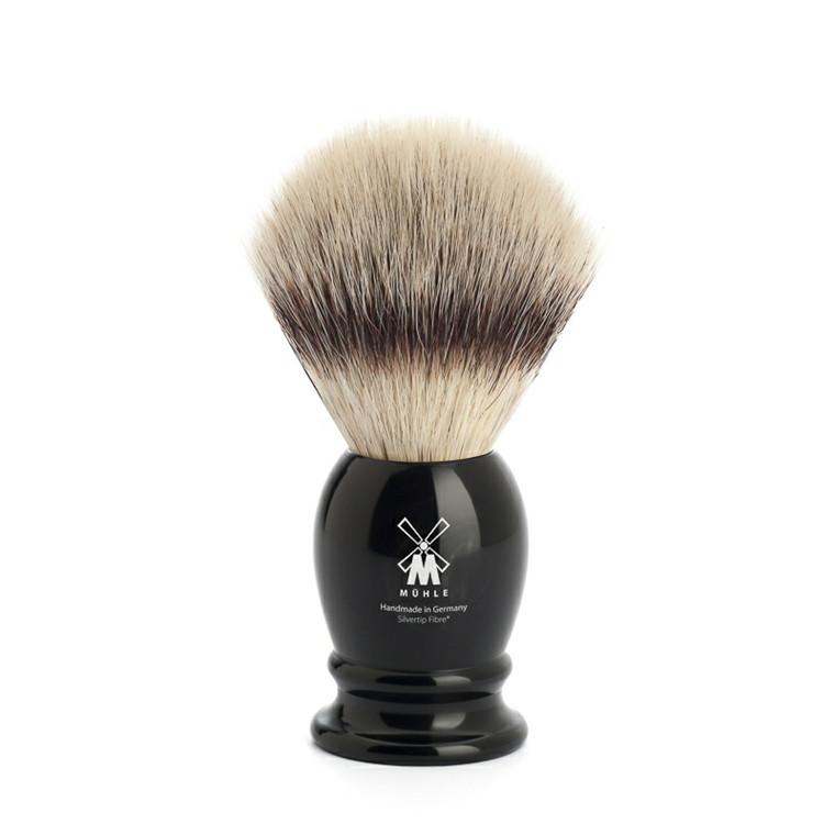 Mühle Silvertip Fiber®, Barberkost, 21 mm, Classic, Bøffelhorn