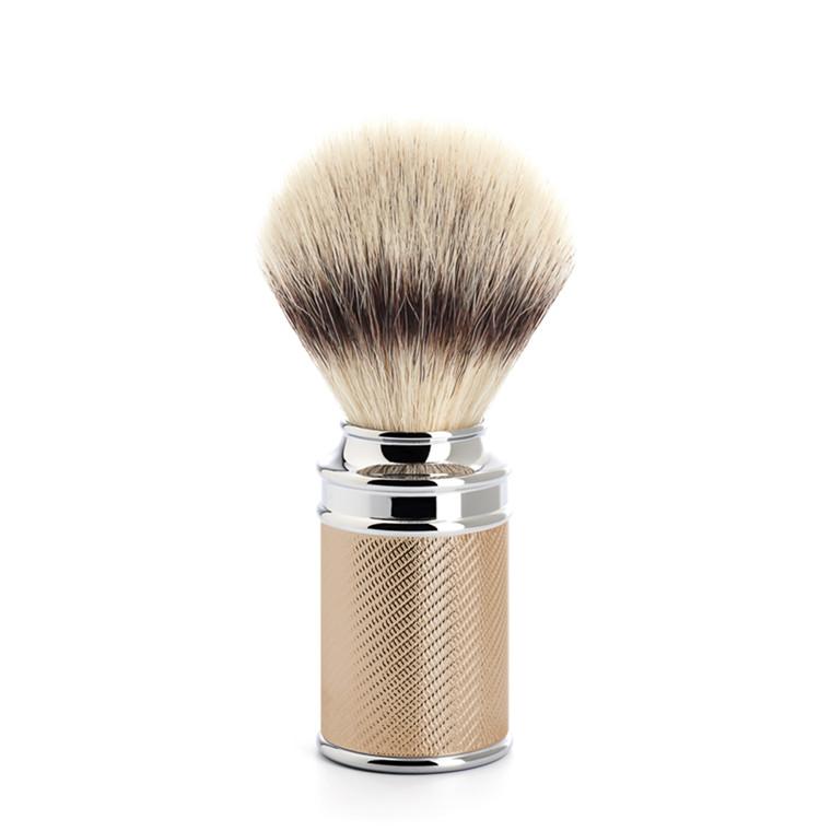 Mühle Silvertip Fibre® Barberkost, 21 mm, Traditional, Rosenguld