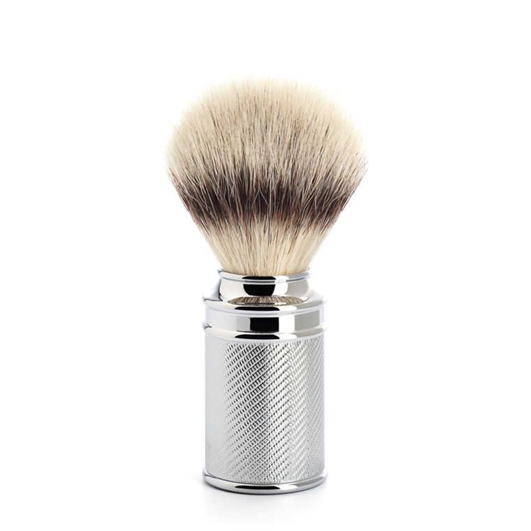 Mühle Silvertip Fibre® Barberkost, 21 mm, Traditional, Krom