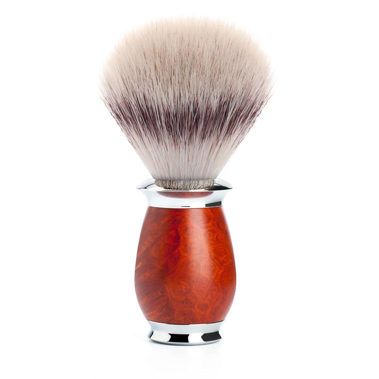 Mühle Silvertip Fibre® Barberkost, 21 mm, Purist, Briar træ