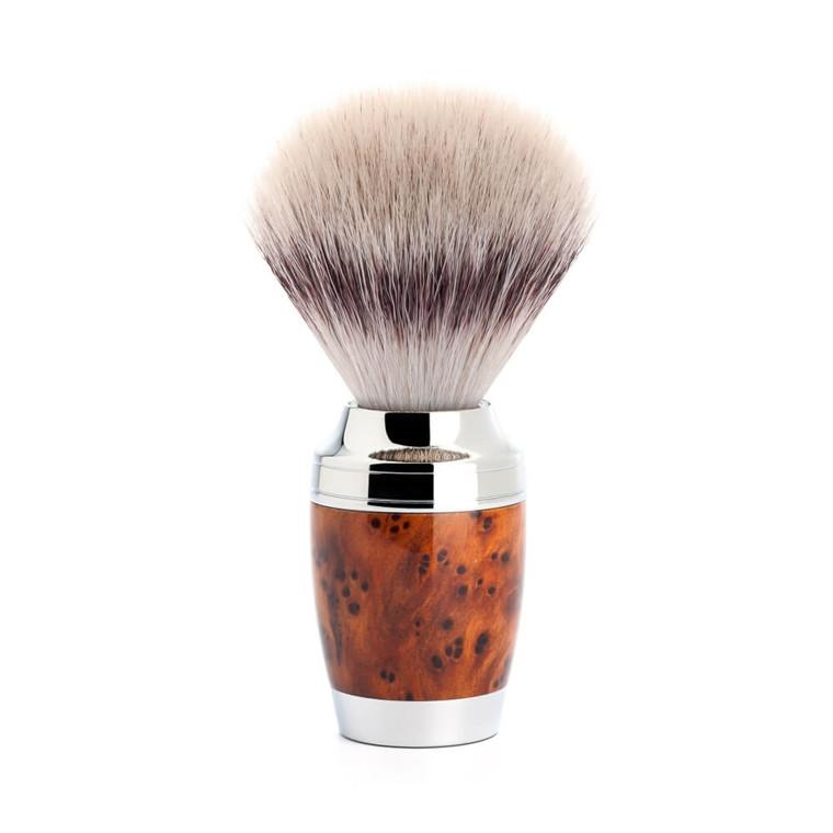 Mühle Silvertip Fibre® Barberkost, 21 mm, Stylo, Thuja Wood