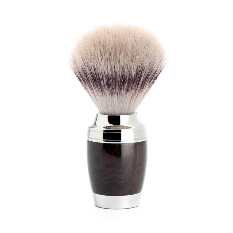 Mühle Silvertip Fibre® Barberkost, 21 mm, Stylo, African Blackwood