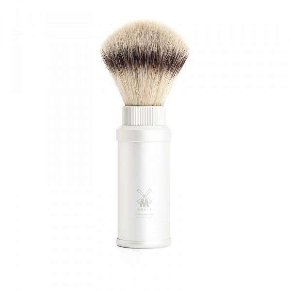 Mühle Rejsebørste Silvertip Fibre®, 21 mm, Sølv