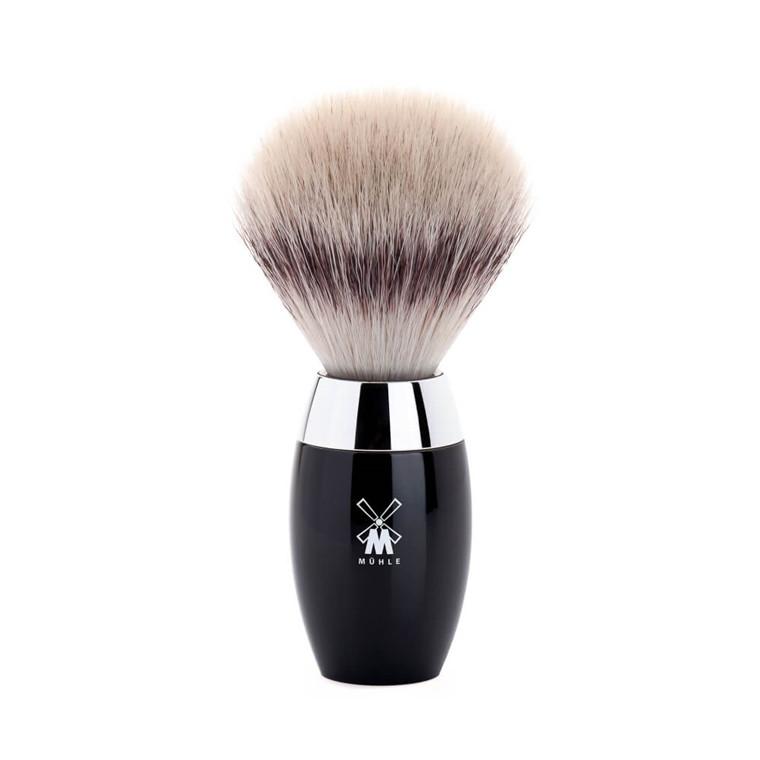 Mühle Silvertip Fibre® Barberkost, 21 mm, Kosmo, Sort Kunstharpiks
