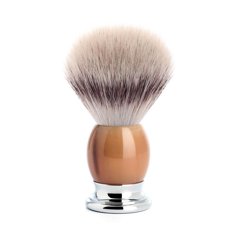 Mühle Silvertip Fibre® Barberkost, 23 mm, Sophist, Genuine horn