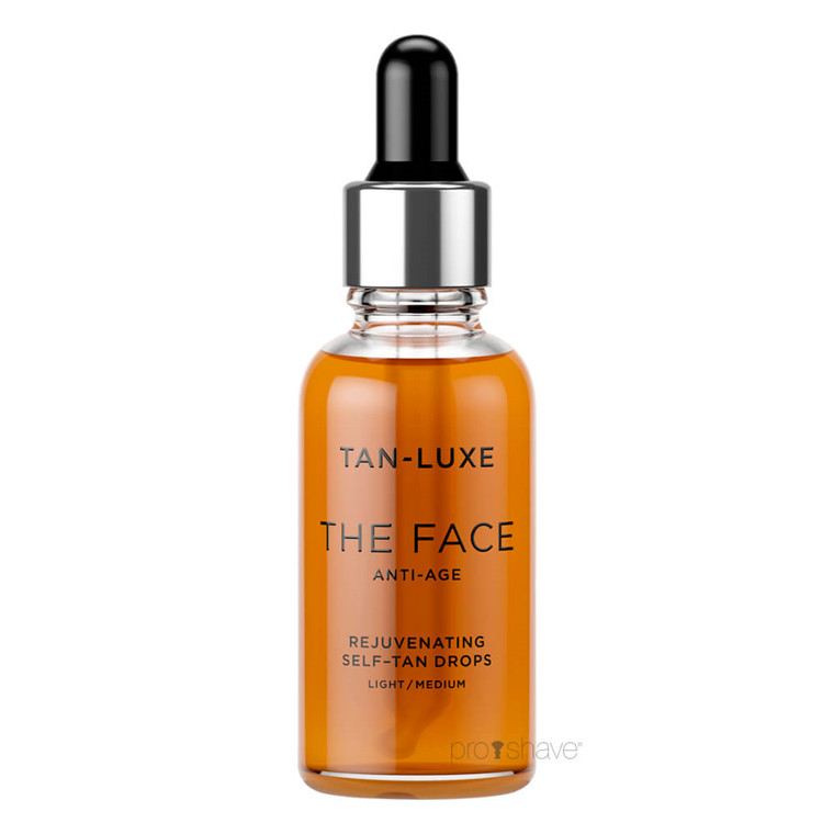 Tan Luxe THE FACE ANTI-AGE Light / Medium, 30 ml.