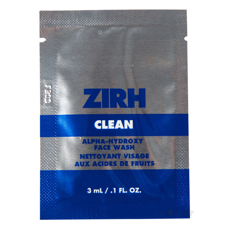 ZIRH Clean Sample Packette, 3 ml.