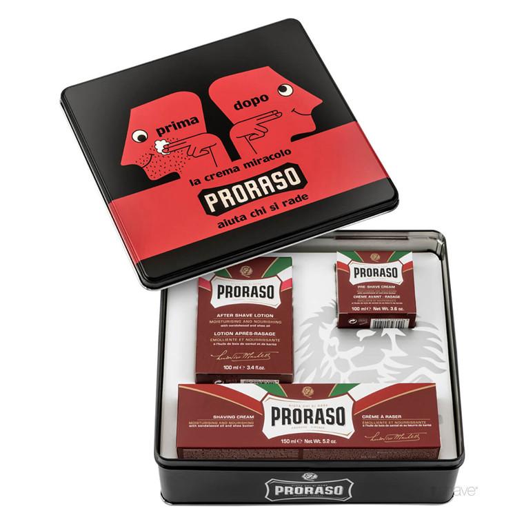 Proraso Gaveæske, Vintage Selection Prima & Dopo, Nourishing