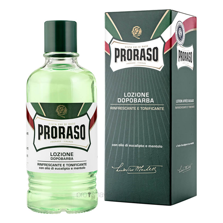 Proraso Aftershave Splash - Refresh, Eucalyptus & Menthol, 400 ml. (Salon)