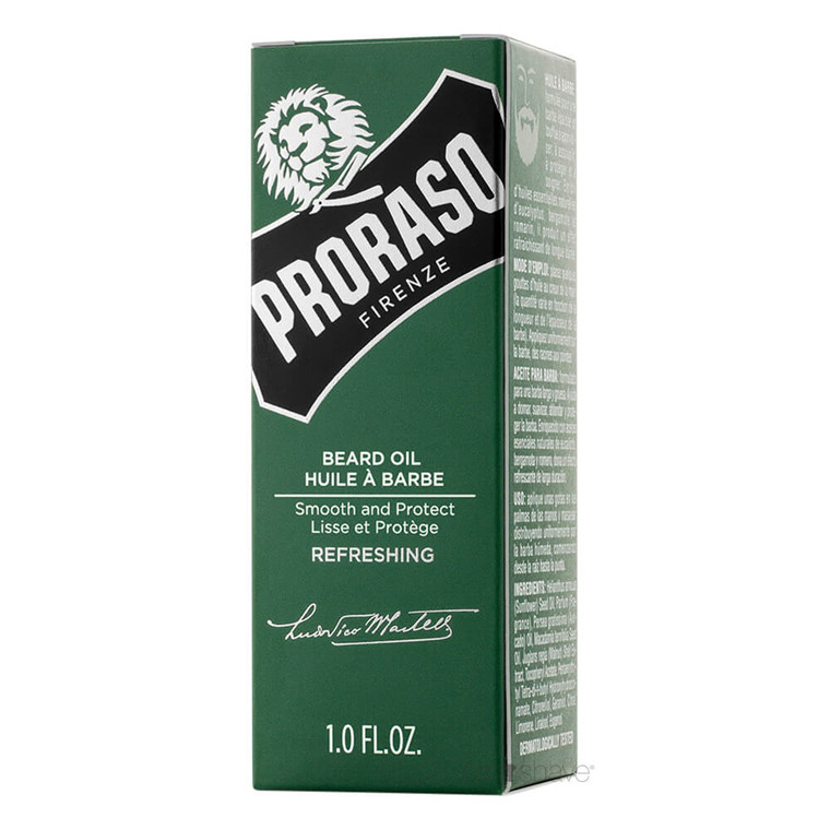 Proraso Skægolie, Refreshing, 30 ml.