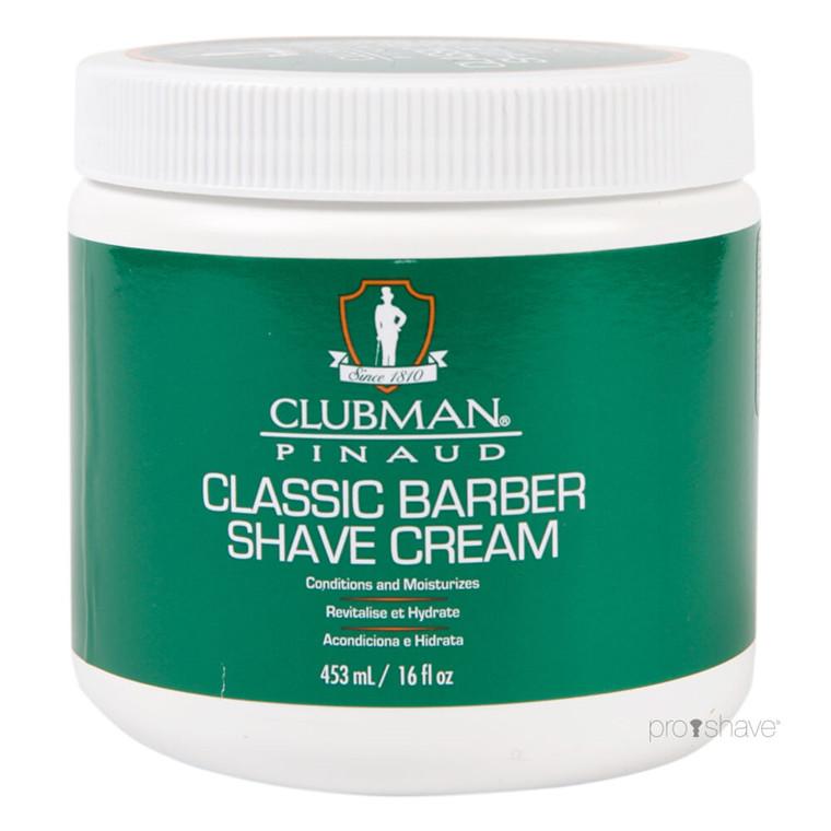 Pinaud Clubman Barbercreme, 453 ml.