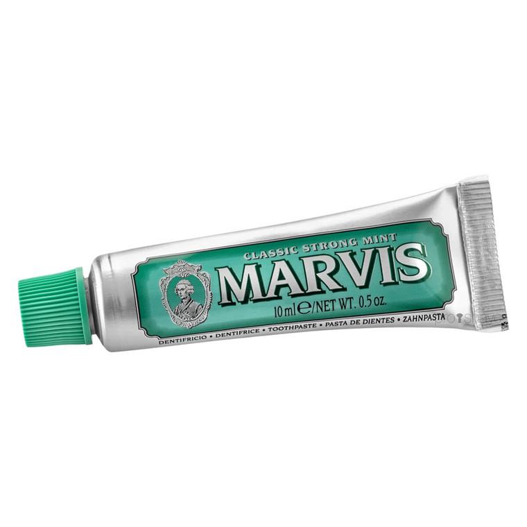 Marvis Classic Strong Mint Tandpasta, Rejsestørrelse, 10 ml.