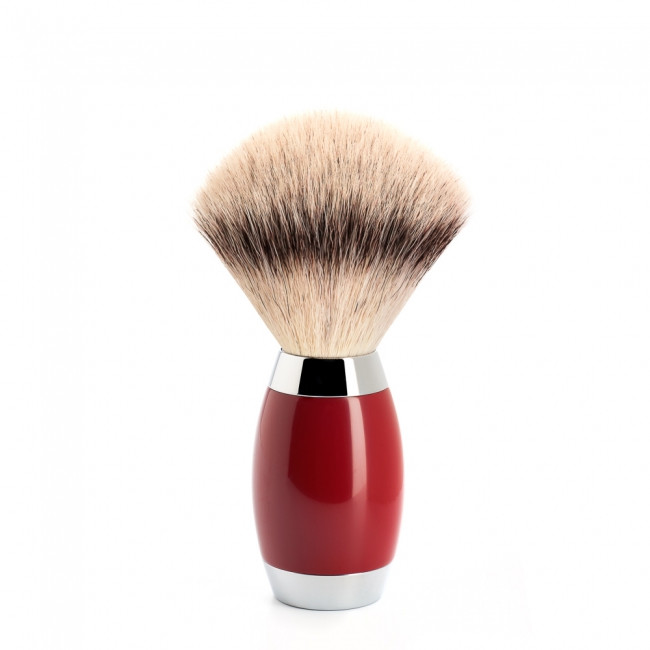 Mühle Silvertip Fibre® Barberkost, Edition No. 2, 6-lags asiatisk laktræ