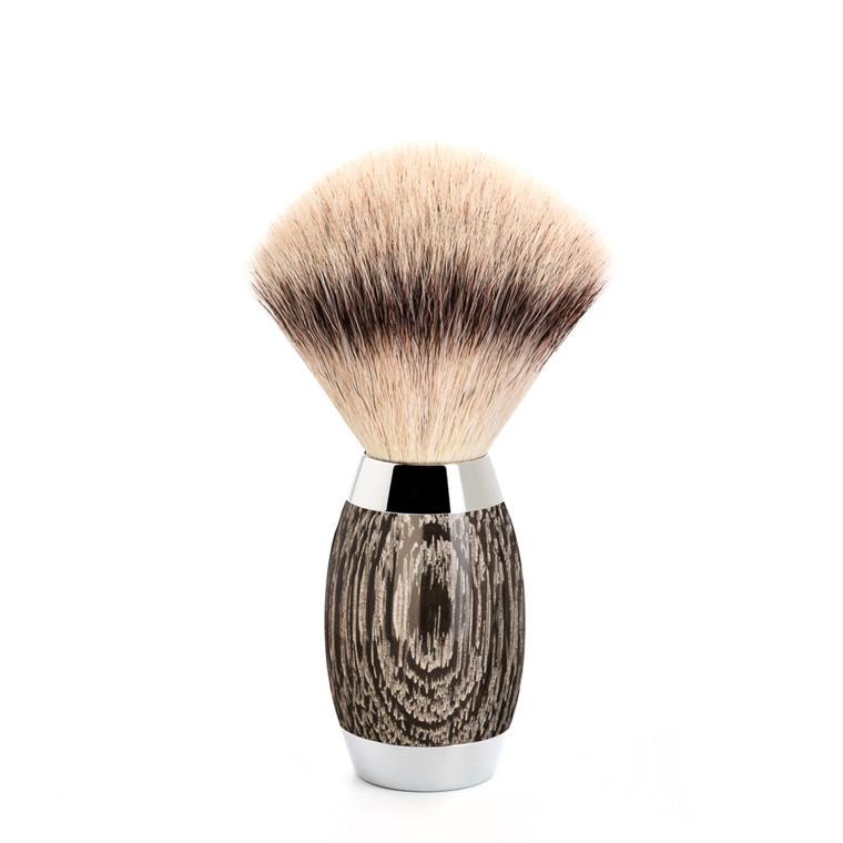 Mühle Silvertip Fibre® Barberkost, Edition No. 3, Moseeg & Sterling Sølv
