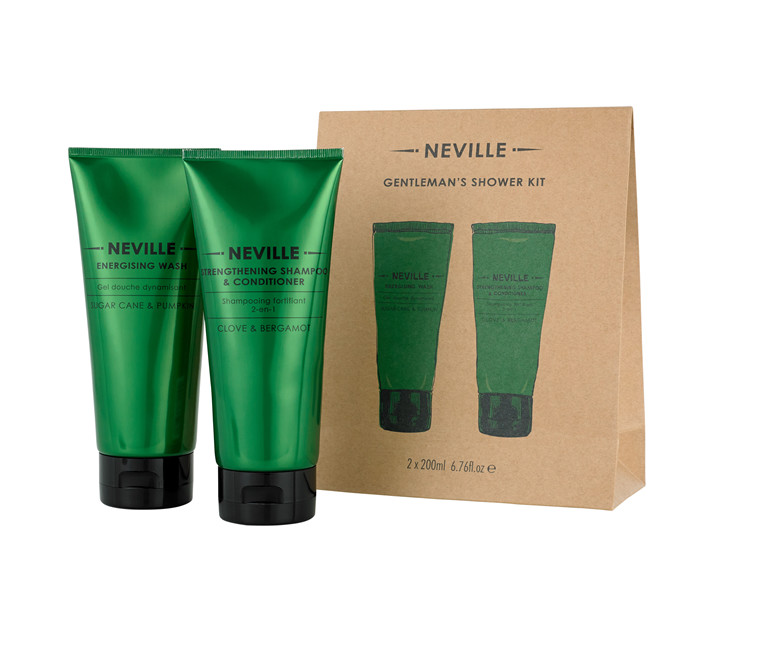 Neville Gentleman's Shower kit