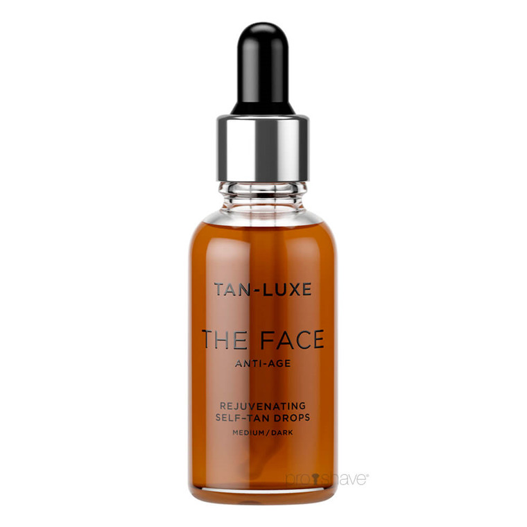 Tan Luxe THE FACE ANTI-AGE Medium / Dark, 30 ml.