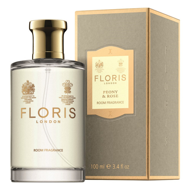 Floris Pæon & Rose Room Fragrance, 100 ml.