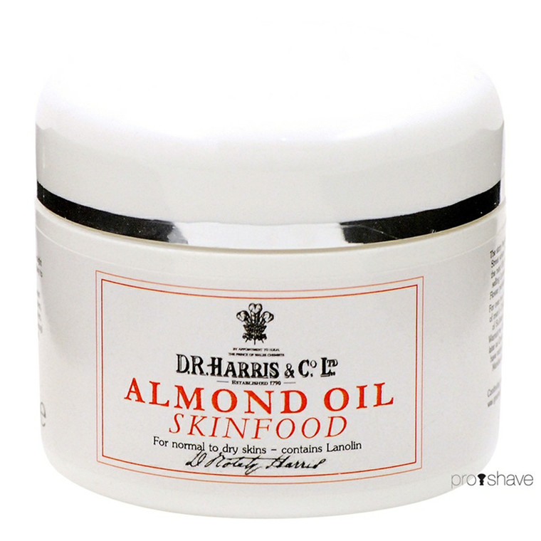 D.R. Harris Almond Oil Skinfood, 100 ml.