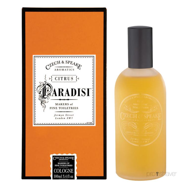 Czech & Speake Citrus Paradisi, Cologne Spray, 100 ml.