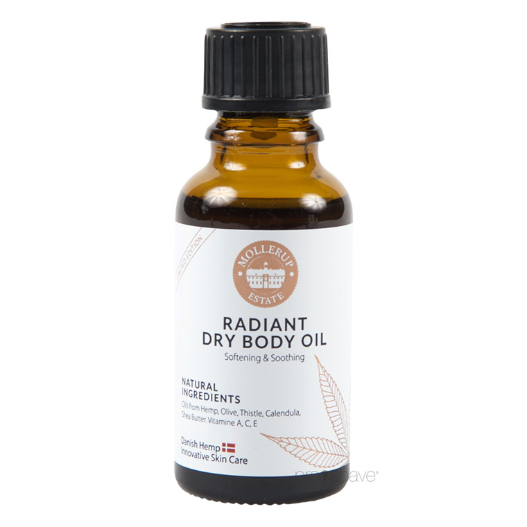 Møllerup Radiant Dry Body Oil Sample, 20 ml.