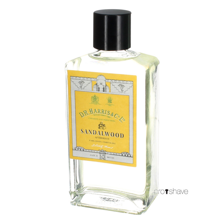 D.R. Harris Sandeltræ Aftershave, 100 ml.