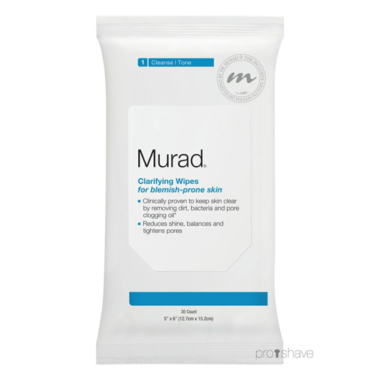 Murad Clarifying Wipes, 30 stk.