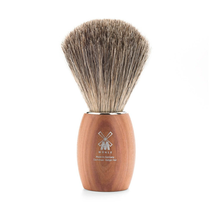 Mühle Pure Badger Barberkost, 21 mm, Blommetræ