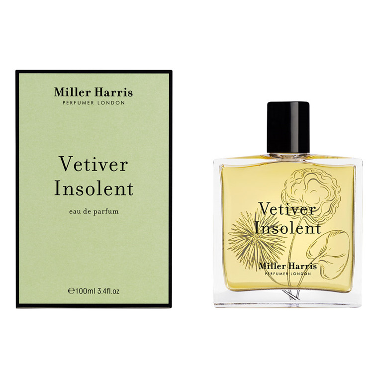 Miller Harris Vetiver Insolent Eau de Parfum, 100 ml.