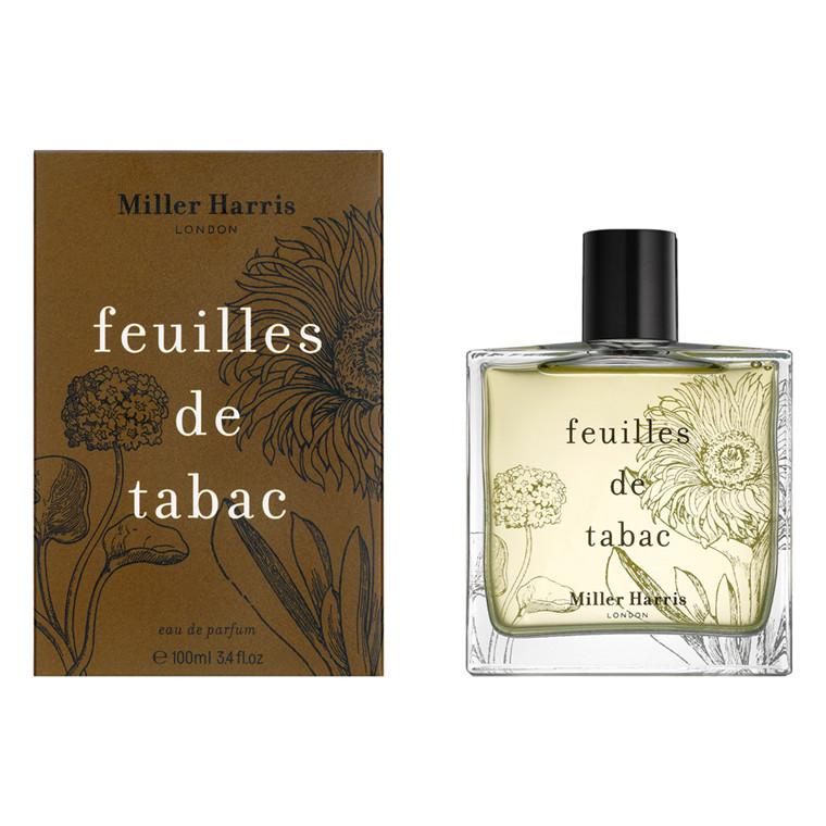 Miller Harris Feuilles de Tabac Eau de Parfum, 100 ml.