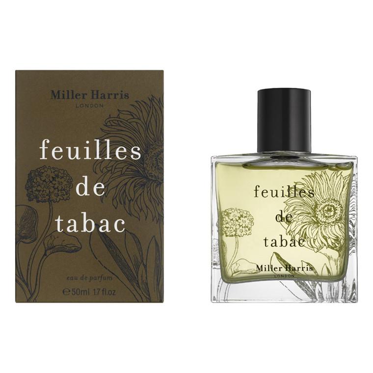 Miller Harris Feuilles de Tabac Eau de Parfum, 50 ml.