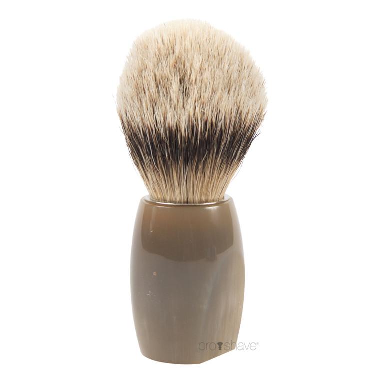 Dovo Barberkost, Silvertip Badger, Buffalo horn