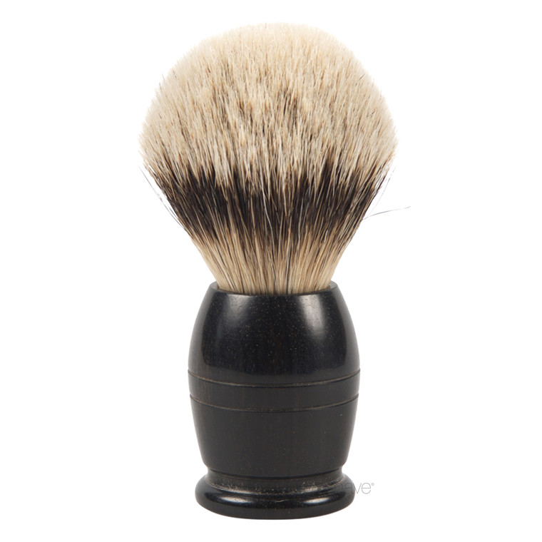 Dovo Barberkost, Silvertip Badger, Ibenholt