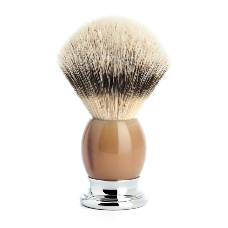 Mühle Silvertip Barberkost, 23 mm, Sophist, Genuine Horn