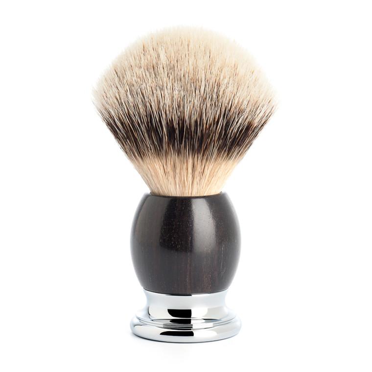 Mühle Silvertip Barberkost, 23 mm, Sophist, African Blackwood