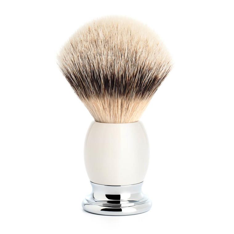 Mühle Silvertip Barberkost, 23 mm, Sophist, Porcelæn