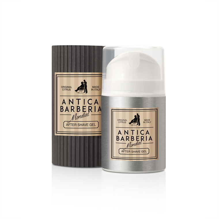 Mondial Antica Barberia After Shave Gel, Original Citrus, 50 ml.