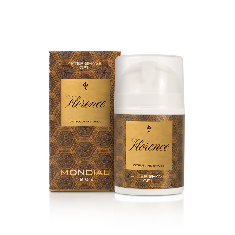 Mondial Florence After Shave Gel, 50 ml.