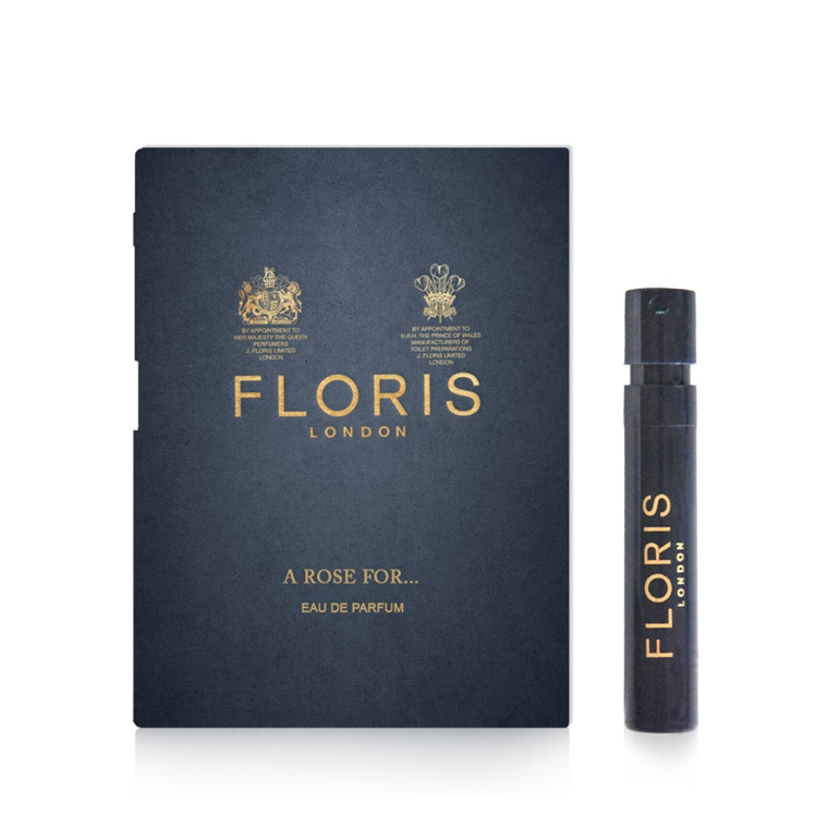 Floris A Rose For…, Eau de Parfum, DUFTPRØVE, 1,2 ml.