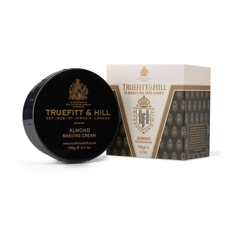 Truefitt & Hill Barbercreme, Almond, 190 gr.
