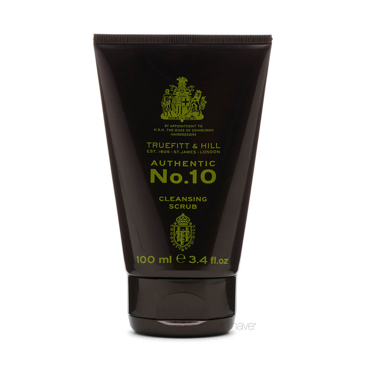 Truefitt & Hill Authentic No. 10 Cleansing Scrub, 100 ml.