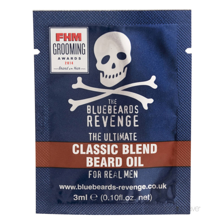 Bluebeards Revenge Classic Blend Skægolie, 3 ml. SAMPLE