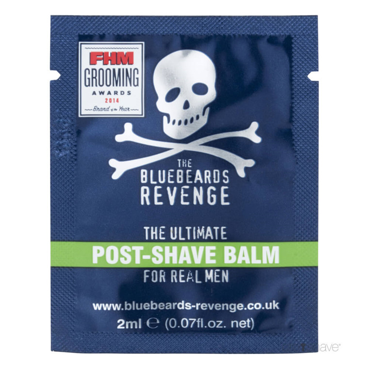 Bluebeards Revenge Post Shave Balm, 2 ml. SAMPLE