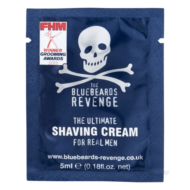 Bluebeards Revenge Barbercreme, 5 ml. SAMPLE