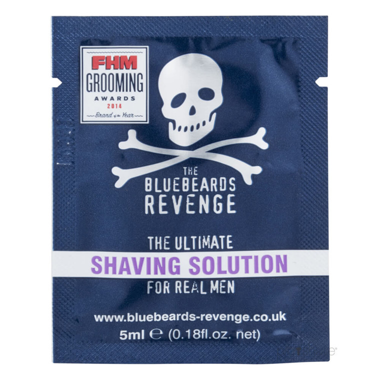 Bluebeards Revenge Shaving Solution, 5 ml. SAMPLE