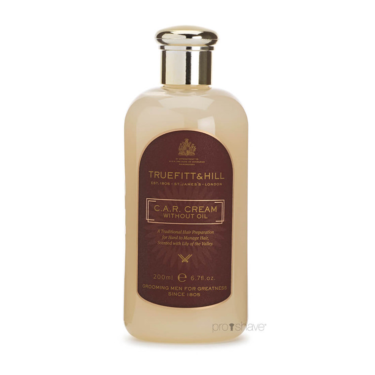 Truefitt & Hill C.A.R Cream (oliefri), 200 ml.