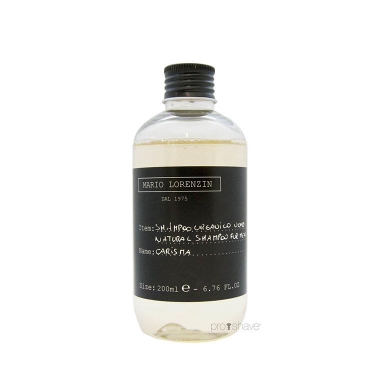 Mario Lorenzin 1975 Natural Shampoo, Carisma, Men, 200 ml.