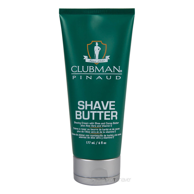 Pinaud Clubman Shave Butter, 177 ml.